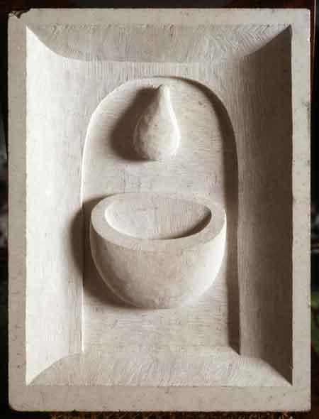 Drop_ portland stone
