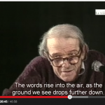 Deleuze lecture as the ground drops