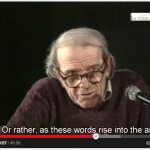 Deleuze being more specific