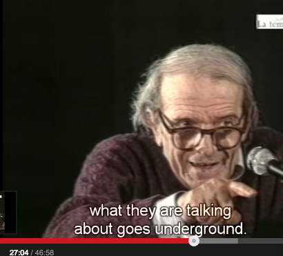 deleuze as the ground we see what they are talking about drop