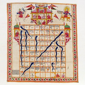 Jain board of snakes and ladders